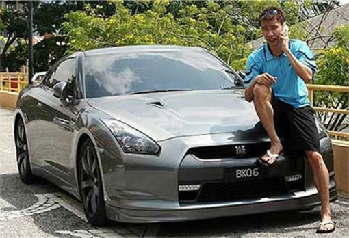 Lee Chong Wei Car - Skyline