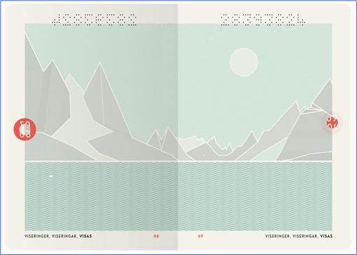 Norway New Passport Design - Page