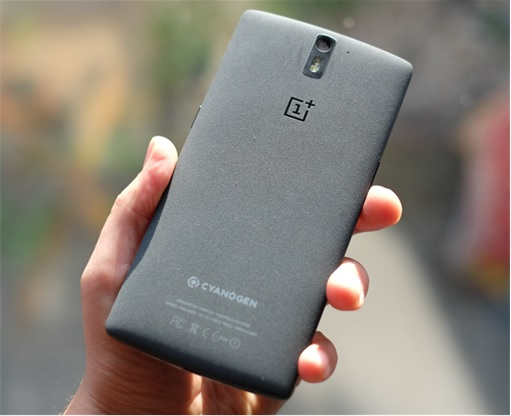 OnePlus One Smartphone - Back View