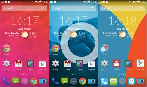 OnePlus One Smartphone - Screen Views
