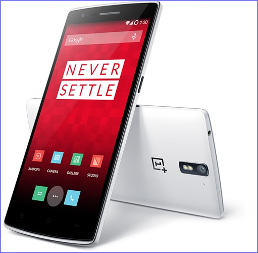 OnePlus One Smartphone White