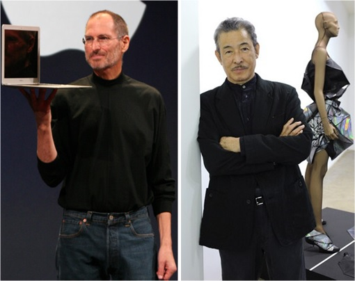 Steve Jobs and Issey Miyake - Turtlenecks