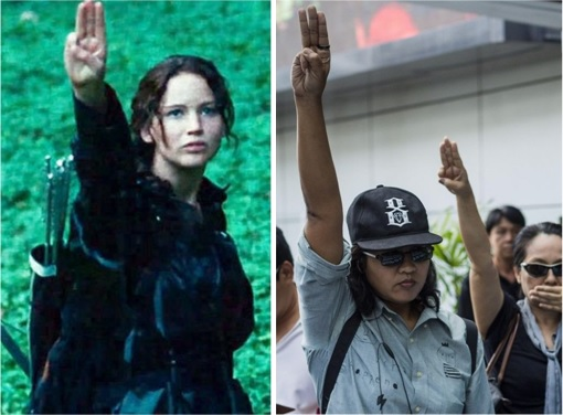 There's A New Salute For Oppressors - The Hunger Games