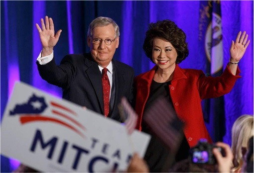 U.S. 2014 MidTerms Election - Mitch McConnell To Exchange Title With Harry Raid