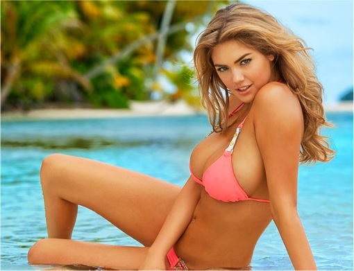 UMNO Assembly - Kate Upton in Bikini