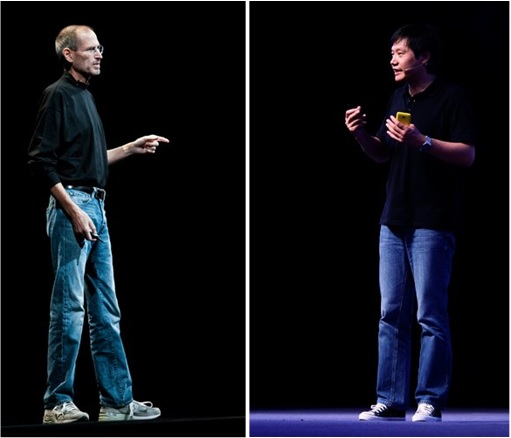 Apple Steve Jobs and Xiaomi Lei Jun - Copycat Clothing