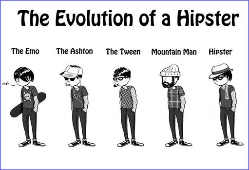 Evolution of Hipster