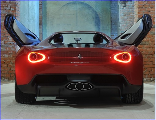Ferrari Sergio Pininfarina - 2014-2015 - Rear View Door Opened