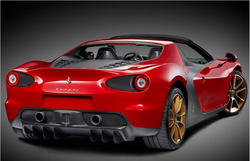 Ferrari Sergio Pininfarina - 2014-2015 - Rear View Production