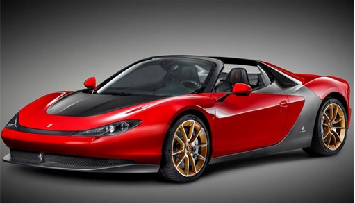 Ferrari Sergio Pininfarina - 2014-2015 - Side View Production