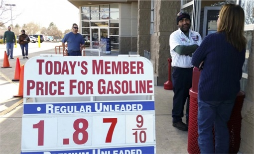 Gasoline Pump at US$1.87 A Gallon