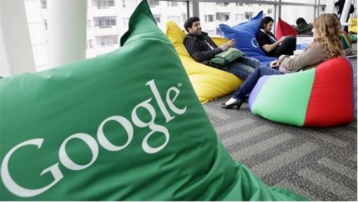 Google Employees Sitting