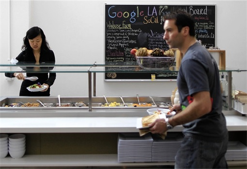 Google Employees at Cafe 2