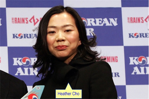 Korean Airline Heather Cho - Korean Air background