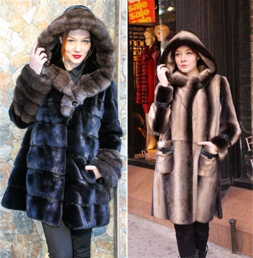 Ladies wearing Russian furs