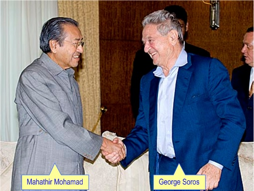 Mahathir Meets Soros