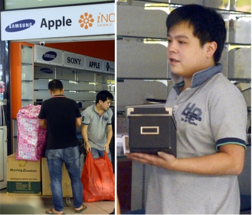 Mobile Air Jover Chew - Closing Down Sim Lim Square Store - Moving Items