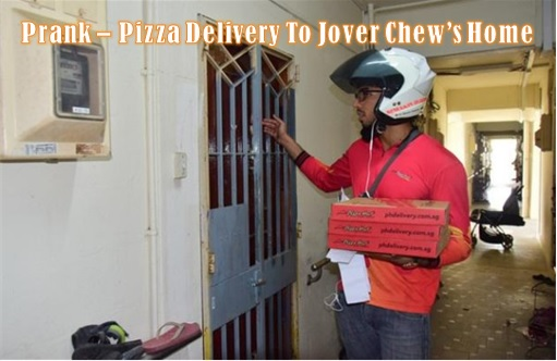 Mobile Air Jover Chew - Prank Pizza Delivery