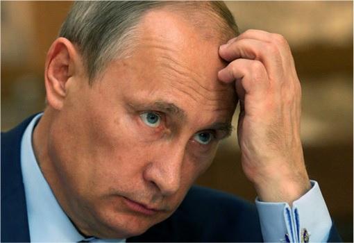 President Putin Cracking Head