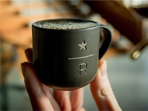 Starbucks Reserve Roastery - a cup of coffee