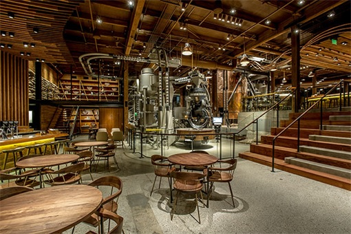 Starbucks Reserve Roastery - An Awesome & Cool Coffee Emporium (Photos)