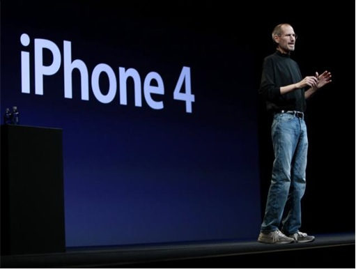 Steve Job at iPhone 4 Presentation
