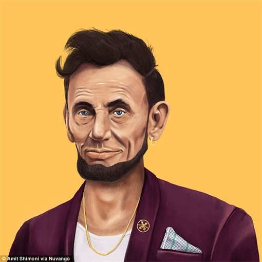World Leader as Hipster - Abraham Lincoln