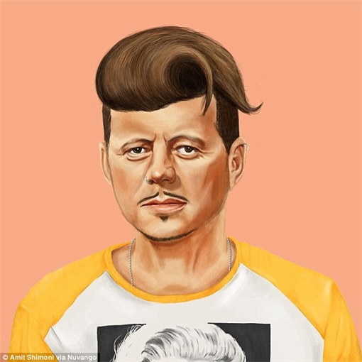 World Leader as Hipster - John F Kennedy