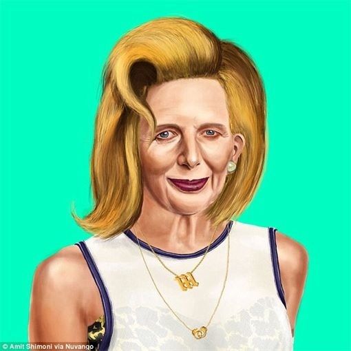 World Leader as Hipster - Margaret Thatcher