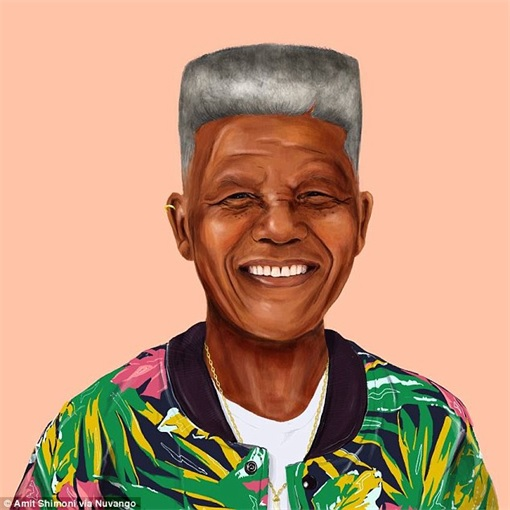 World Leader as Hipster - Nelson Mandela