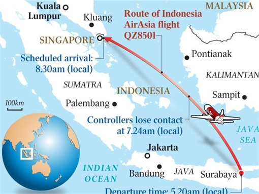 AirAsia Flight QZ8501 Tragedy - Schedule Flight