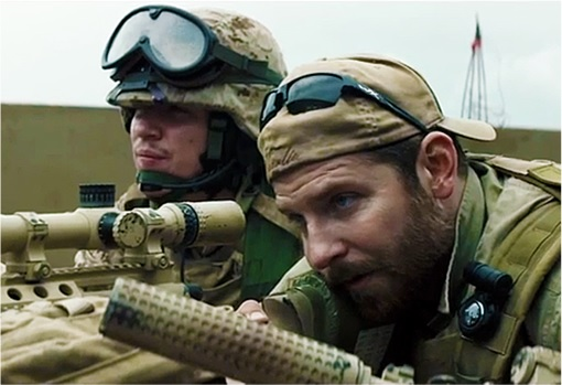 American Sniper - Chris Kyle Aiming