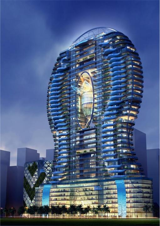 Bandra Ohm Condominium - Exterior Design