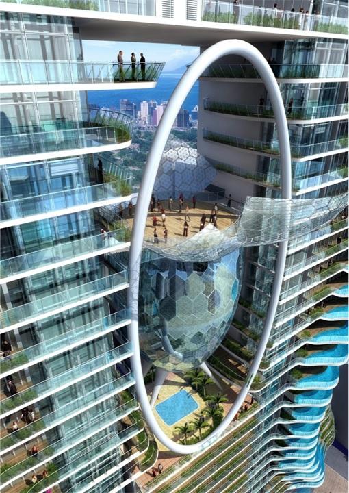Bandra Ohm Condominium - Middle Ring Design