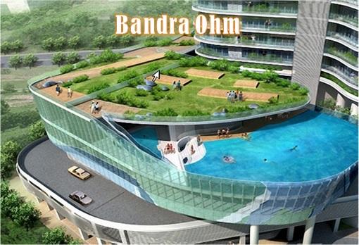 Bandra Ohm Condominium - Private Swimming Pool Concept