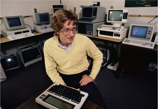 Bill Gates - Young with Computers