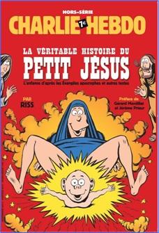Charlie Hebdo Controversial Cover - Birth of Jesus (2014)