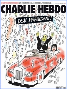 Charlie Hebdo Controversial Cover - DSK for President (2011)