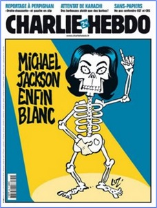 Charlie Hebdo Controversial Cover - Michael Jackson (2009)