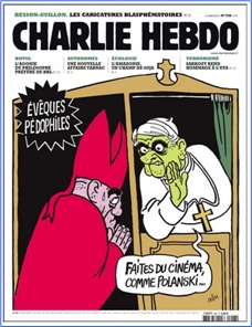 Charlie Hebdo Controversial Cover - Sex Scandal (2010)