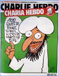 Charlie Hebdo Controversial Cover - Sharia Hebdo (2011)