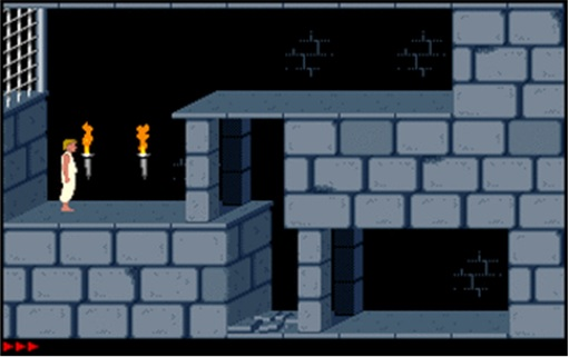 DOS Games - Prince of Persia Start