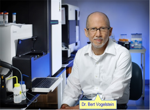Dr. Bert Vogelstein of the Johns Hopkins University School