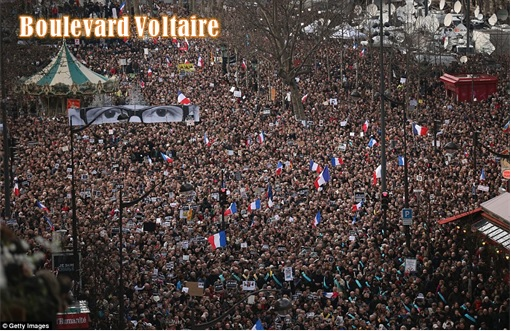 France Massive Rally - Boulevard Voltaire