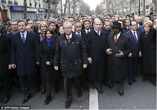 France Massive Rally - World Leaders Ready for Marching - 2