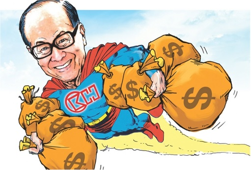 Hong Kong Billionaire Li Ka-shing - Superman