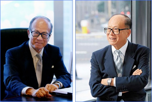 Hong Kong Billionaire Li Ka-shing - pose - 1