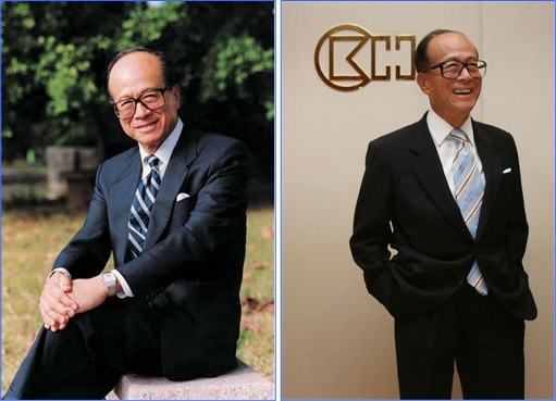 Hong Kong Billionaire Li Ka-shing - pose - 2