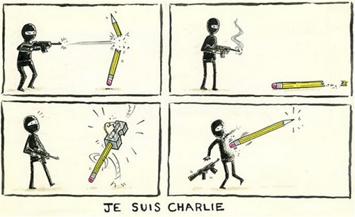 Je Suis Charlie Cartoons - James Walmesley