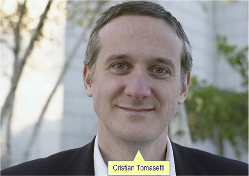 Johns Hopkins bio-mathematician Cristian Tomasetti